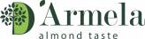 Logo D'Armela almond taste